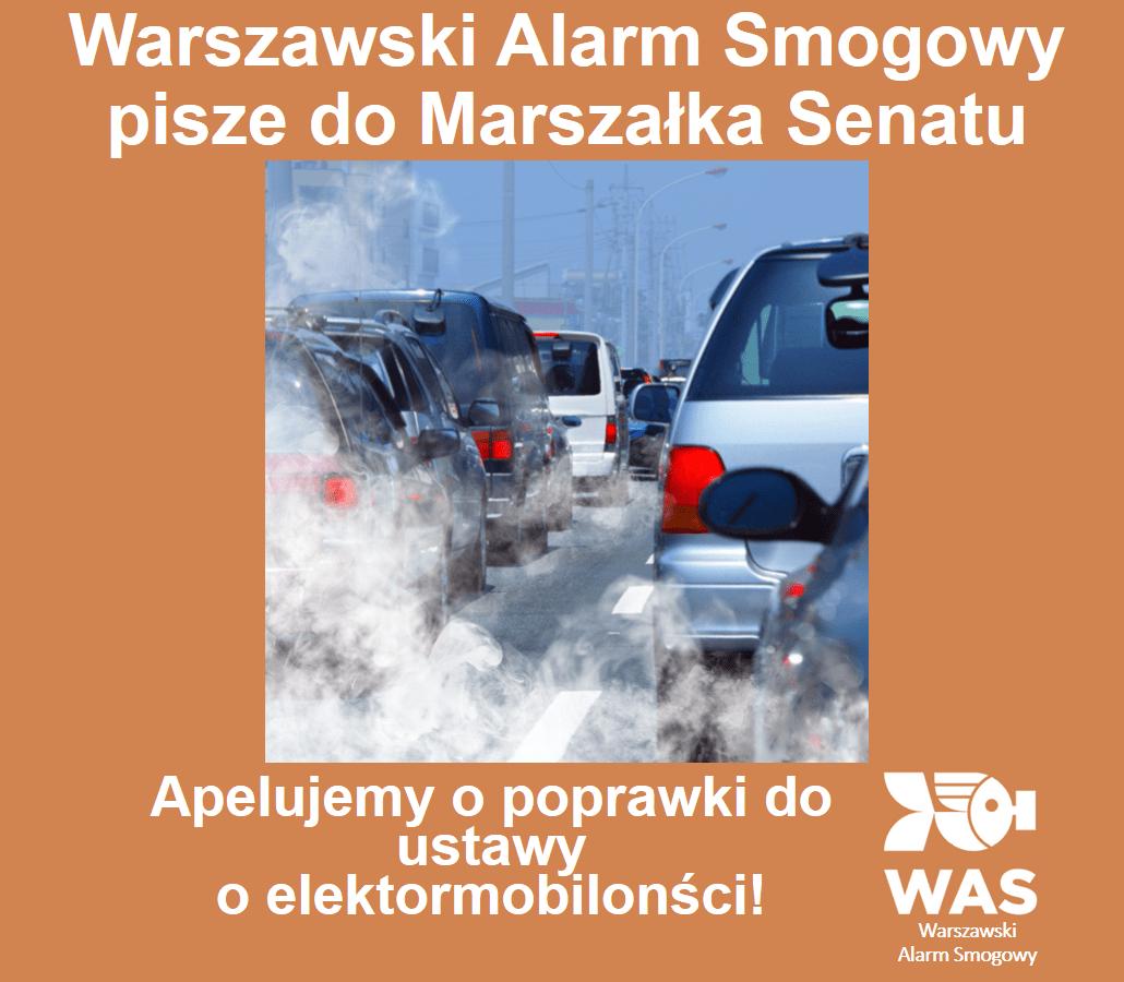 Panie Marszałku wPanu cała nadzieja  nazmniejszenie smogu!