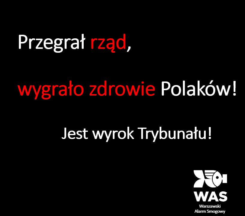 Przegrał rząd, wygrało zdrowie Polaków!